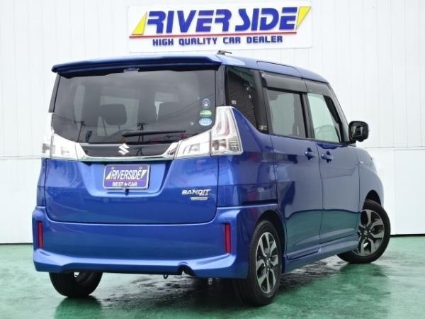 Suzuki Solio III синий сзади