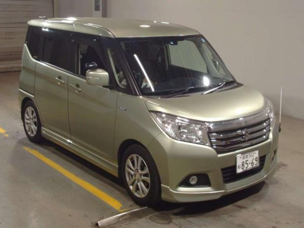 Suzuki Solio III серый