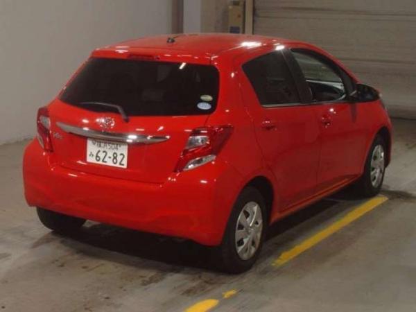 Toyota Vitz II Рестайлинг