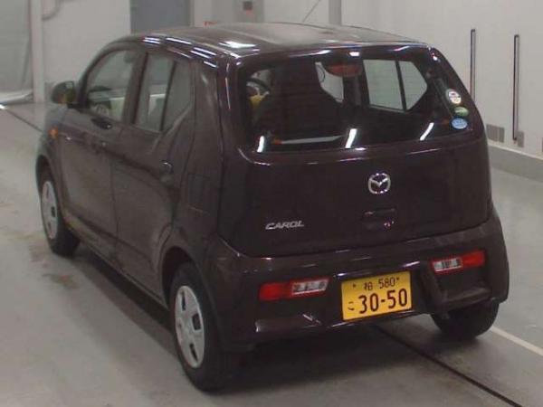 Mazda Carol VII 2015 коричневый сзади