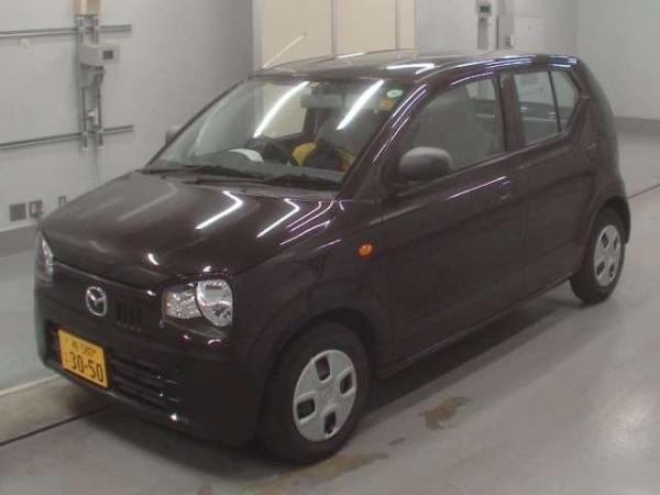 Mazda Carol VII 2015 коричневый