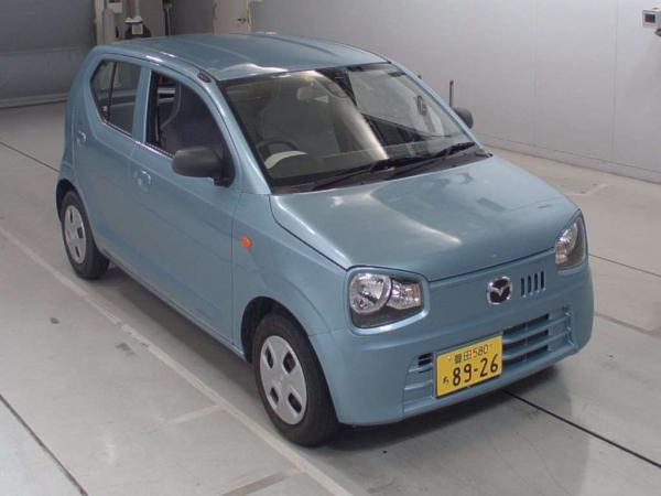 Mazda Carol VII 2015 голубой