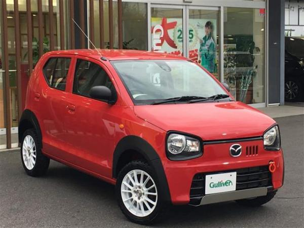 Mazda Carol VII 2015 красный