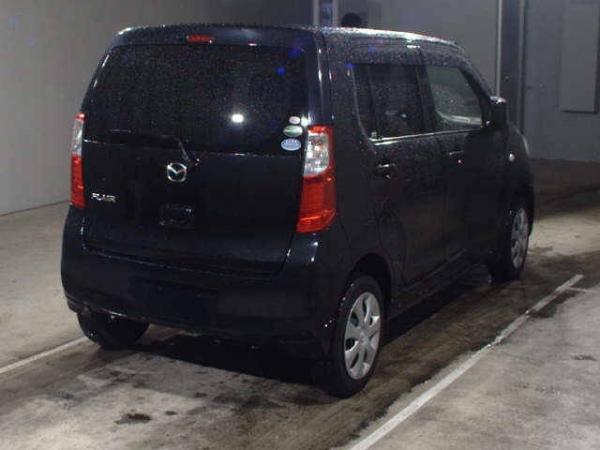 Mazda Flair I Рестайлинг 2016 чёрный сзади
