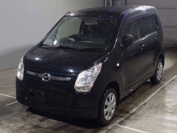 Mazda Flair I Рестайлинг 2016 чёрный спереди