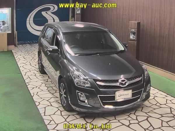 Mazda MPV III Рестайлинг серый спереди