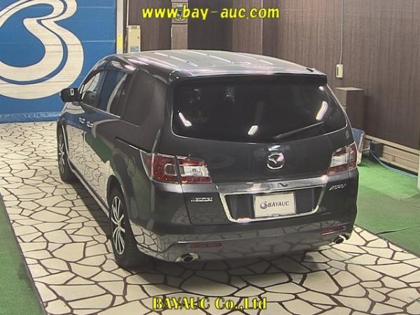 Mazda MPV III Рестайлинг коричневый сзади