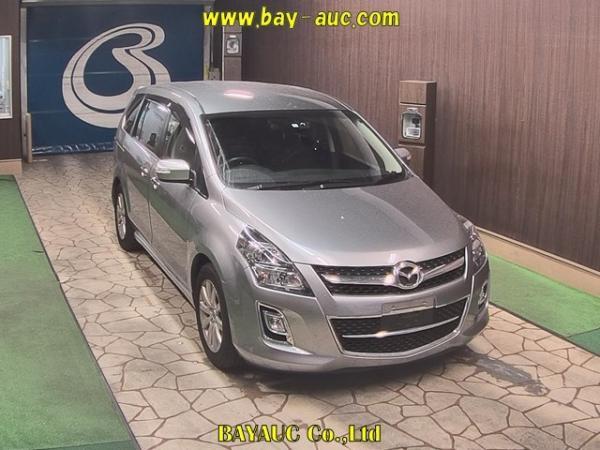 Mazda MPV III Рестайлинг серый