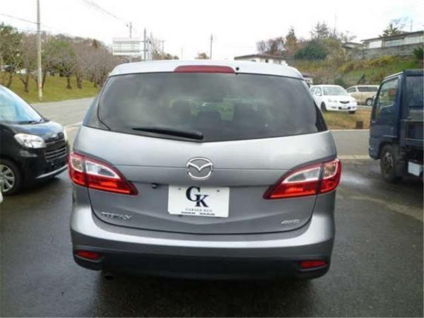Mazda Premacy III серый сзади