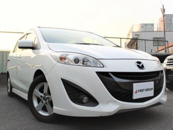 Mazda Premacy III белый