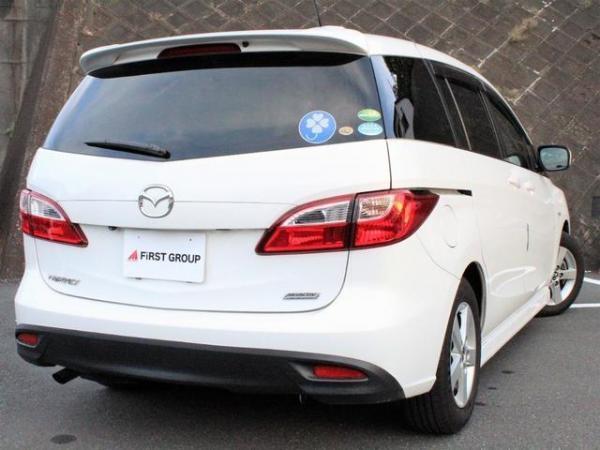 Mazda Premacy III белый сзади