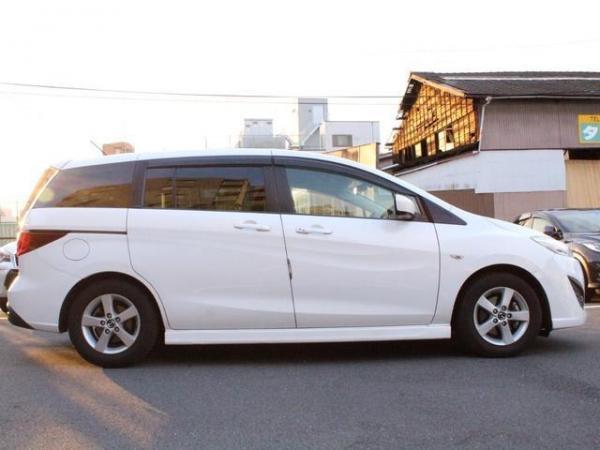 Mazda Premacy III белый сбоку