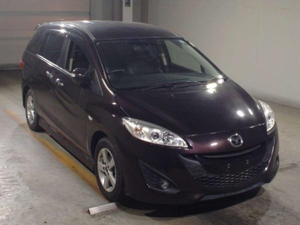 Mazda Premacy III коричневый спереди