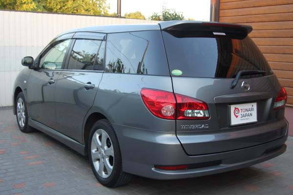 Nissan Wingroad 2015 серый зад