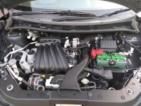 Nissan Wingroad 2015 серый двигатель