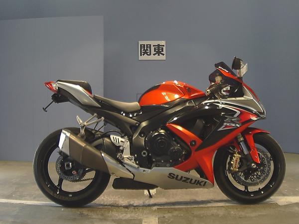 Suzuki GSX-R600 2008 красный