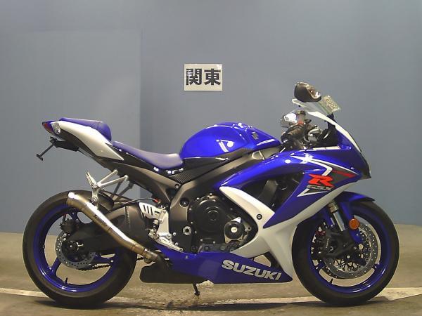 Suzuki GSX-R600 2008 фиолетовый