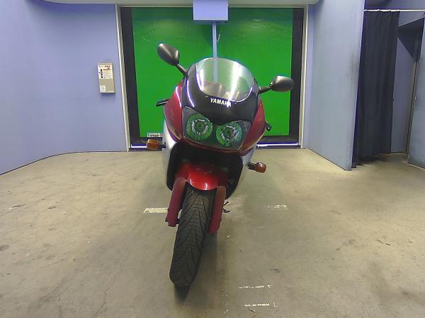 Yamaha YZF1000R 1999 красный перед