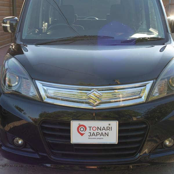 Suzuki Solio 2014 черный середи