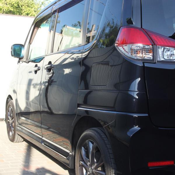 Suzuki Solio 2014 черный задняя левая фара