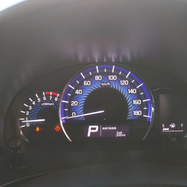 Suzuki Solio 2014 спидометр