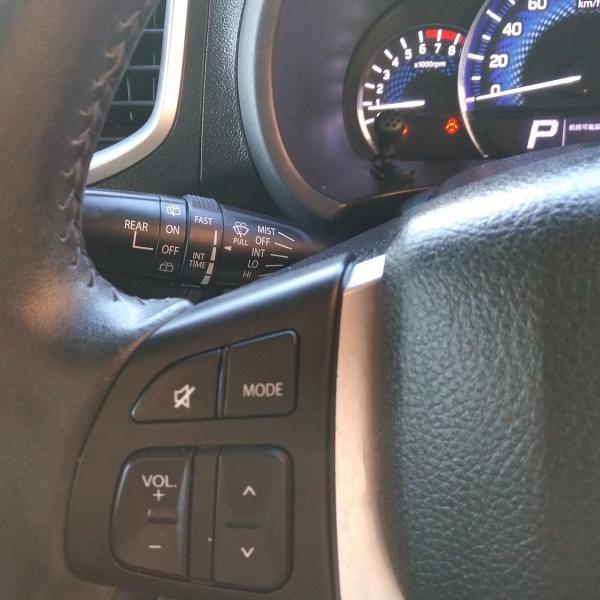 Suzuki Solio 2014 черный руль