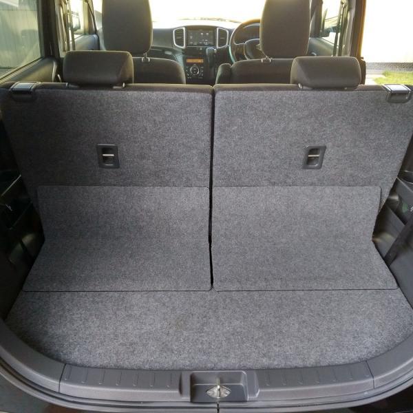 Suzuki Solio 2014 черный багажник
