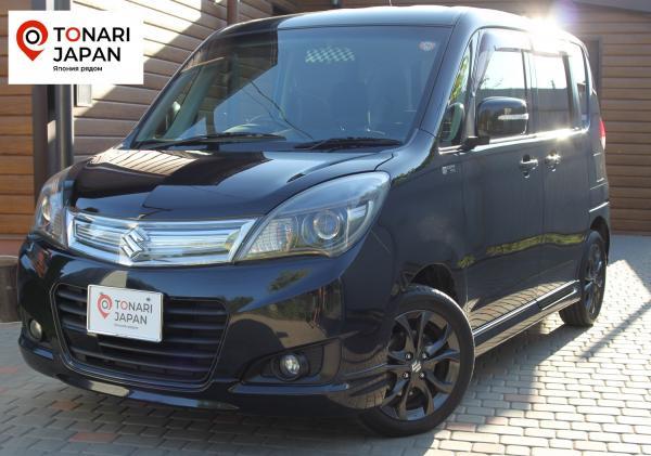 Suzuki Solio 2014 черный