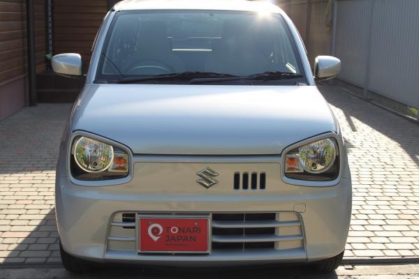 Suzuki Alto VIII 2015 серый спереди