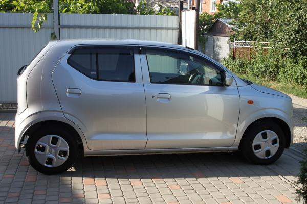 Suzuki Alto VIII 2015 серый правый бок