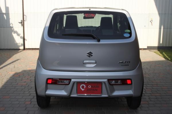 Suzuki Alto VIII 2015 серый сзади
