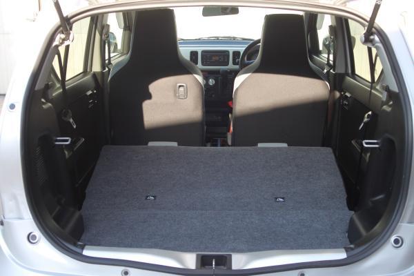Suzuki Alto VIII 2015 салон с багажника