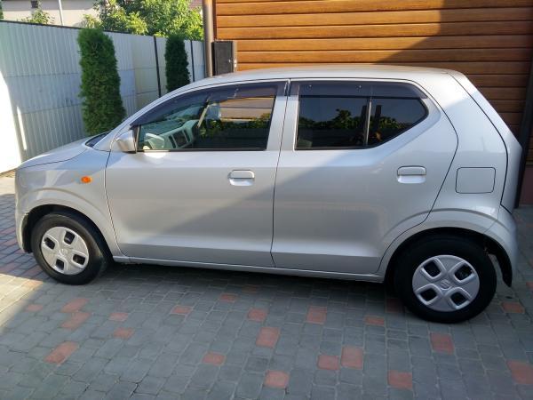Suzuki Alto VIII 2015 серый левый бок