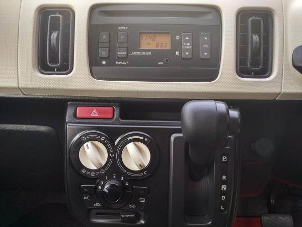 Suzuki Alto VIII 2015 серый  кнопки