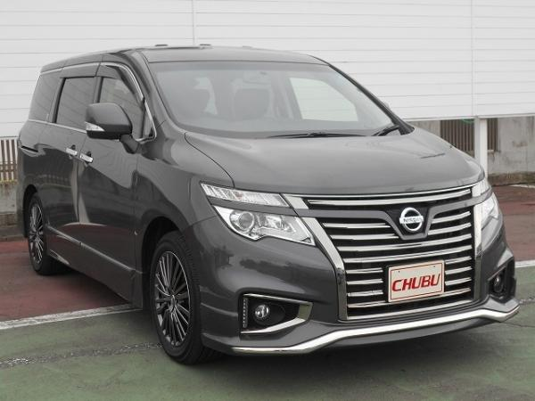 Nissan Elgrand III Рестайлинг 2015 чёрный