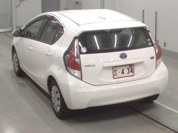 Toyota Aqua I Рестайлинг