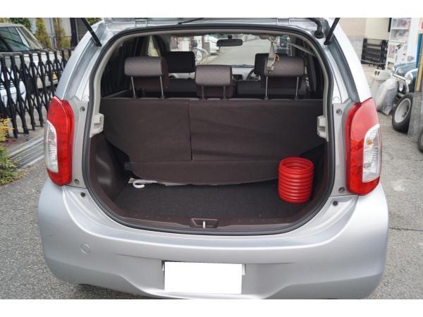 Daihatsu Boon II Рестайлинг багажник