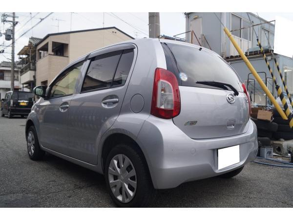Daihatsu Boon II Рестайлинг серый сзади
