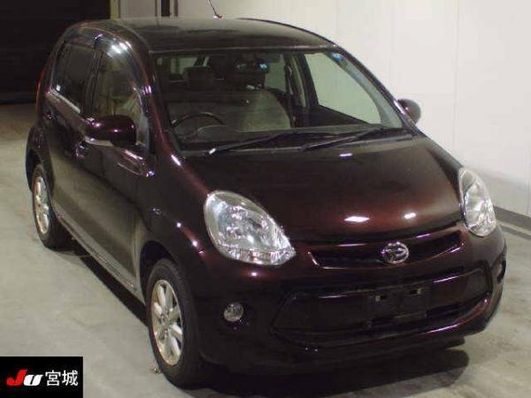 Daihatsu Boon II Рестайлинг коричневый