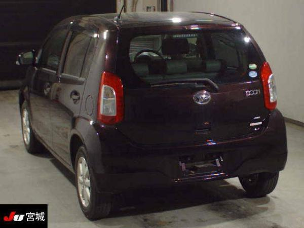 Daihatsu Boon II Рестайлинг коричневый сзади