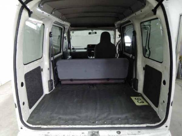 Daihatsu Hijet X Рестайлинг багажник