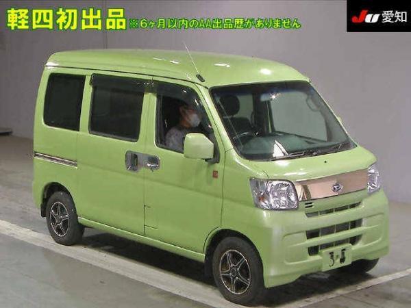 Daihatsu Hijet X Рестайлинг зелёный
