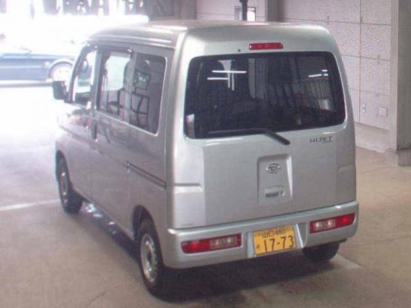 Daihatsu Hijet X Рестайлинг серый сзади