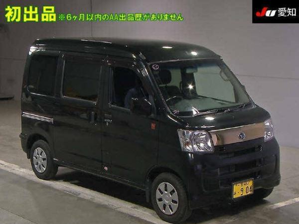 Daihatsu Hijet X Рестайлинг чёрный