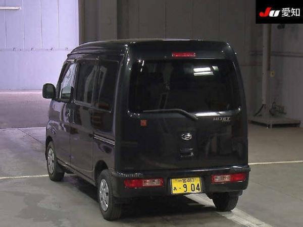 Daihatsu Hijet X Рестайлинг чёрный сзади