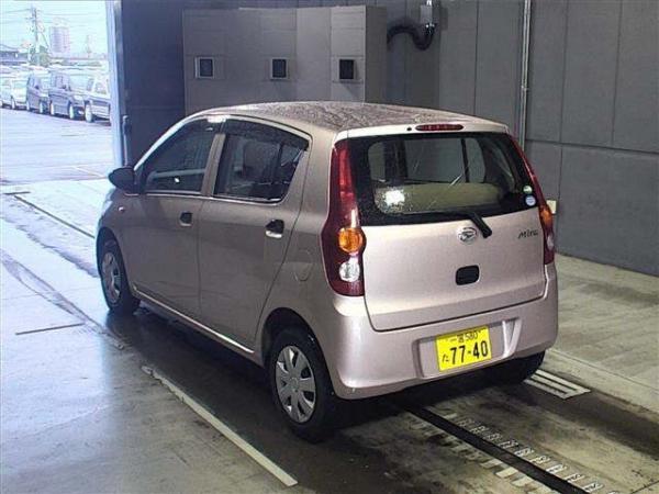 Daihatsu Mira 2016 серый сзади