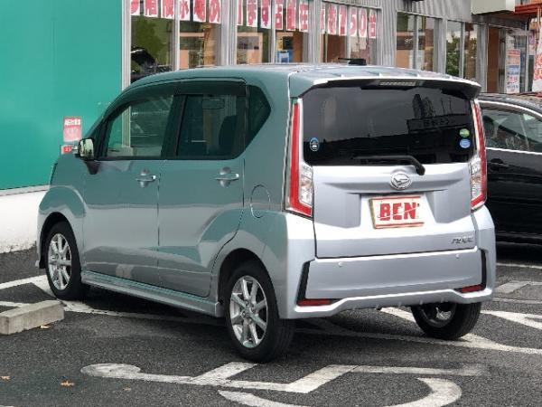 Daihatsu Move VI Рестайлинг серый сзади