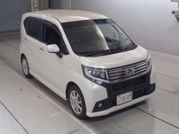 Daihatsu Move VI Рестайлинг белый