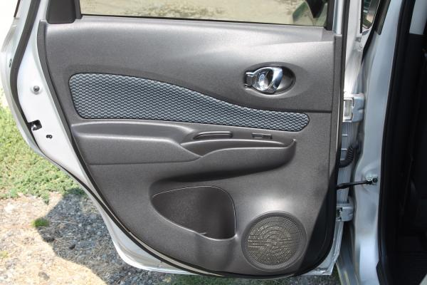 Nissan Note II Рестайлинг дверь
