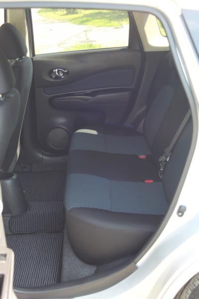 Nissan Note II Рестайлинг сидения